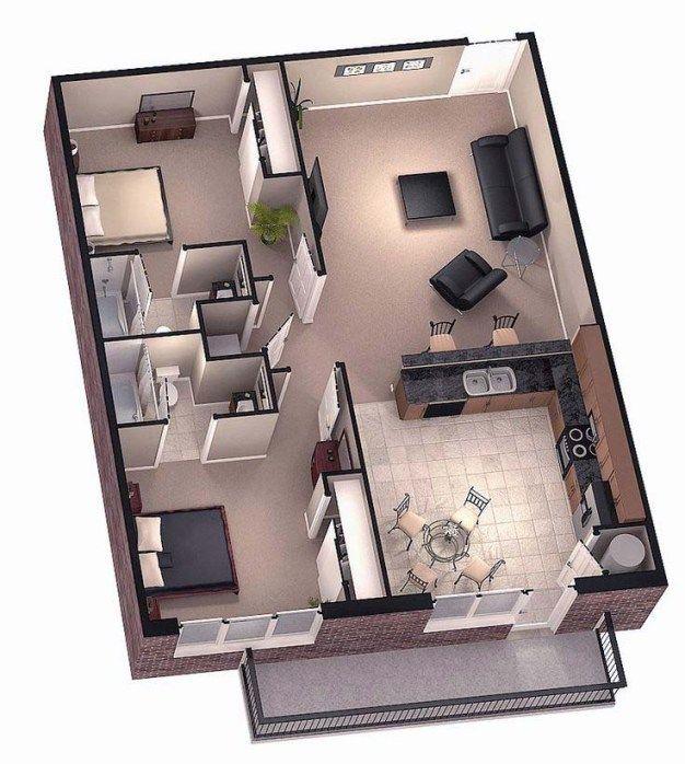 Stylish%2BModern%2BHome%2B3D%2BFloor%2BPlans%2B%25288%2529 Stylish Home 3D Floor Plans Interior
