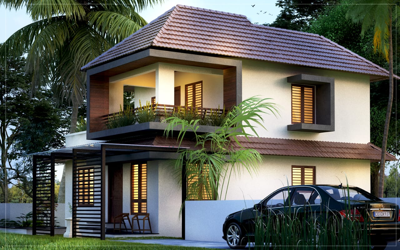 Traditional contemporary mix style 3 bed residence