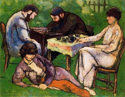 La partida de ajedrez, Marcel Duchamp, 1910