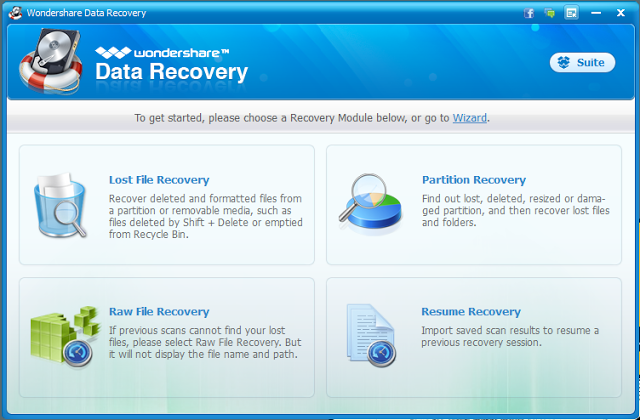 Wondershare Data Recovery Crack Free Download