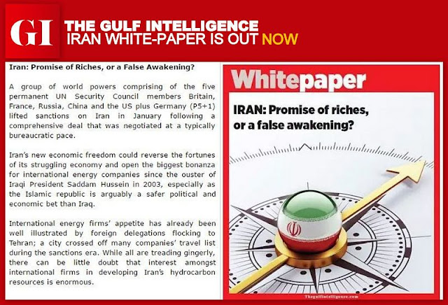 PR | The Gulf Intelligence Iran White-paper is Out Now