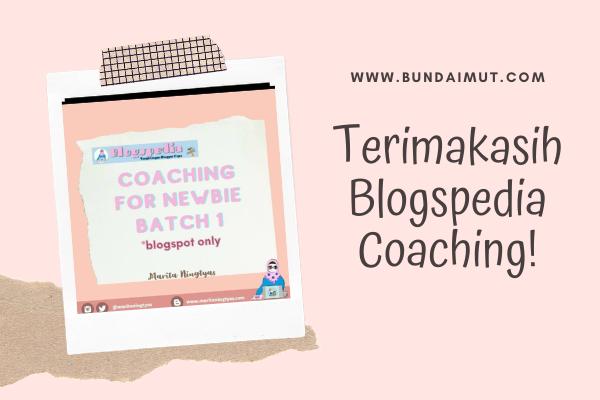 blogspedia coaching batch 1