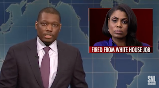 'SNL' Weekend Update Shames Hollywood Gropers, Banishes Omarosa And Welcomes Sleazy Boat Guy
