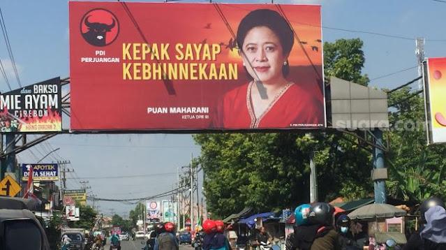 Baliho Puan Maharani Bertebaran di Malang, PDIP: Kami tak Punya Waktu Memikirkan Hal Remeh