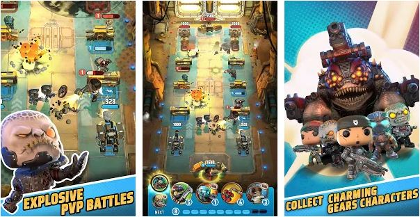Download Gears POP! MOD APK 1.63 (MOD Unlimited Power) for Android 1