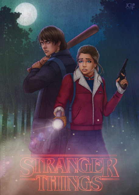Stranger Things - Nancy and Jonathan