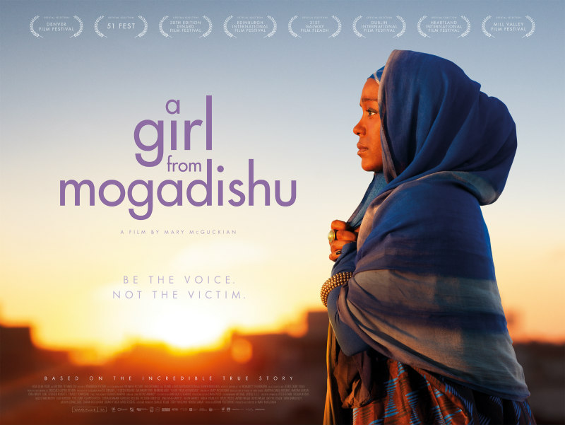 A Girl from Mogadishu poster