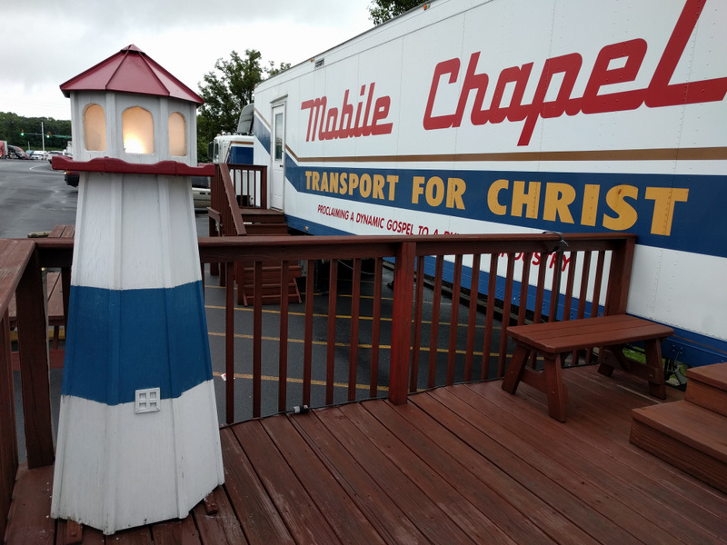 Church And States Harbor Light Chapel Wilco Travel Plaza Pennsylvania