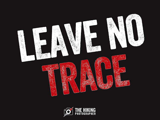 Leave no trace wild camping