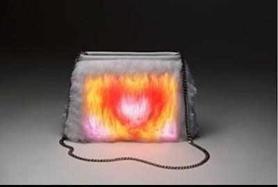 Sensual Hearts Clara Lume Aurora Handbag, Designer Handbags