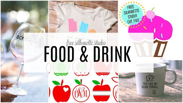 food silhouette vector,  food silhouette vector free, free silhouette designs, free silhouette cut files, free silhouette cut designs, free silhouette cameo designs