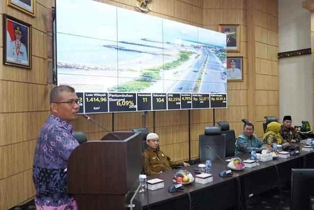 Pemko Padang Sambut Baik Kunjungan Studi Replikasi Pemkab dan Baznas Malang Tentang Pengelolaan Zakat