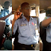 See Reactions As Nigerian Police Officer Is Seen Preaching Inside A Bus. Photos