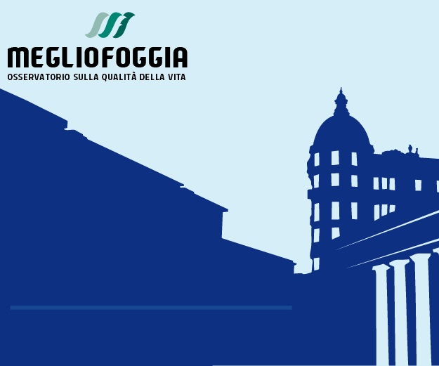 A Foggia la qualità della vita non eccelle. In Italia per il Sole24Ore è terzultima, al 105esimo posto. MeglioFoggia pubblica i dossier