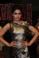 Shreya Saran in Skin Tight Golden Gown ~  Exclusive 026.JPG