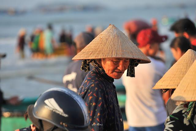 Đi chợ cá Mũi Né