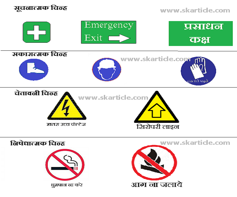 surksha chinh safety sign