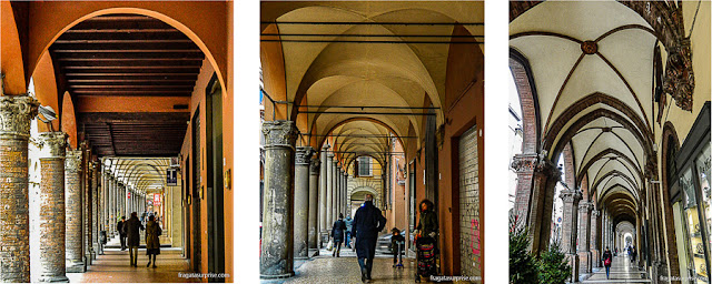 Pórticos de Bolonha, Itália