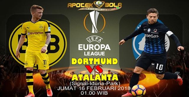 Prediksi Dortmund vs Atalanta 16 Februari 2018