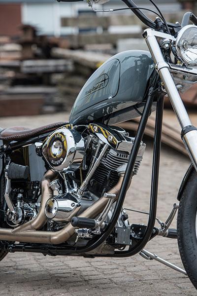 Harley Davidson Shovelhead By Iron Pit Hell Kustom