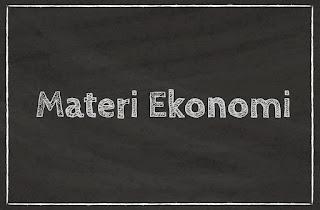 Materi Ekonomi SMA