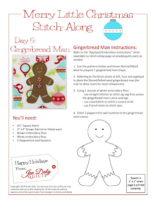 Day 5 - Gingerbread Man