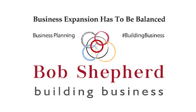 Bob Shepherd Associates supporting image for the LinkedIn Article: Business Expansion Has To Be Balanced