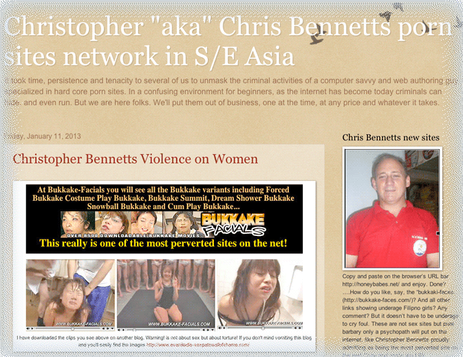 Christopher Bennetts  President - RCCM Cebu.