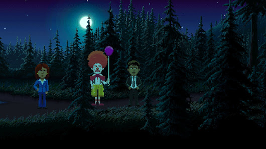 Ransome The Clown gets his own DLC for Thimbleweed Park