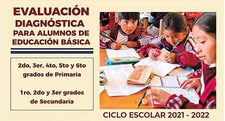 Evaluación Diagnóstica para los Alumnos de Educación Básica