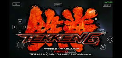 Tekken 6 PPSSPP 1