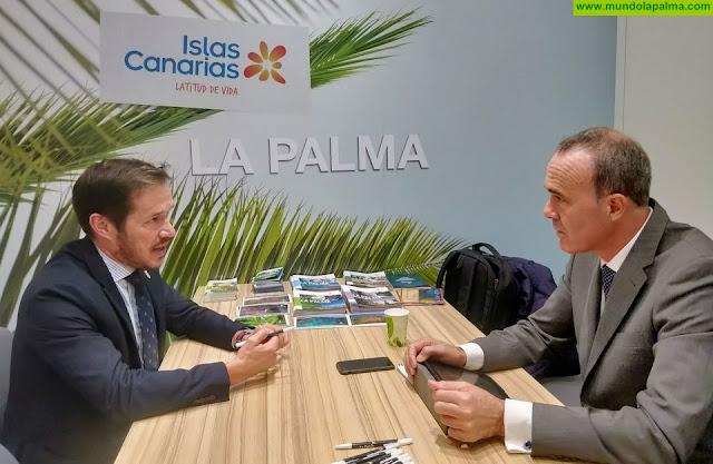 La Palma concluye su presencia en Fitur con buenas expectativas turísticas para la próxima temporada