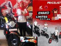 Bustamil: Dukung Juara, Astra Honda Motor Luncurkan Motor Ewako PSM Limited Edition