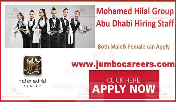 Job openings in Abu Dhabi,
