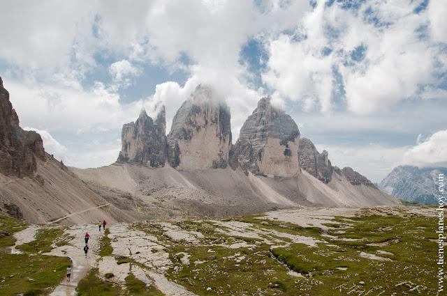 Viaje norte de Italia ruta Tres Cimes Dolomitas