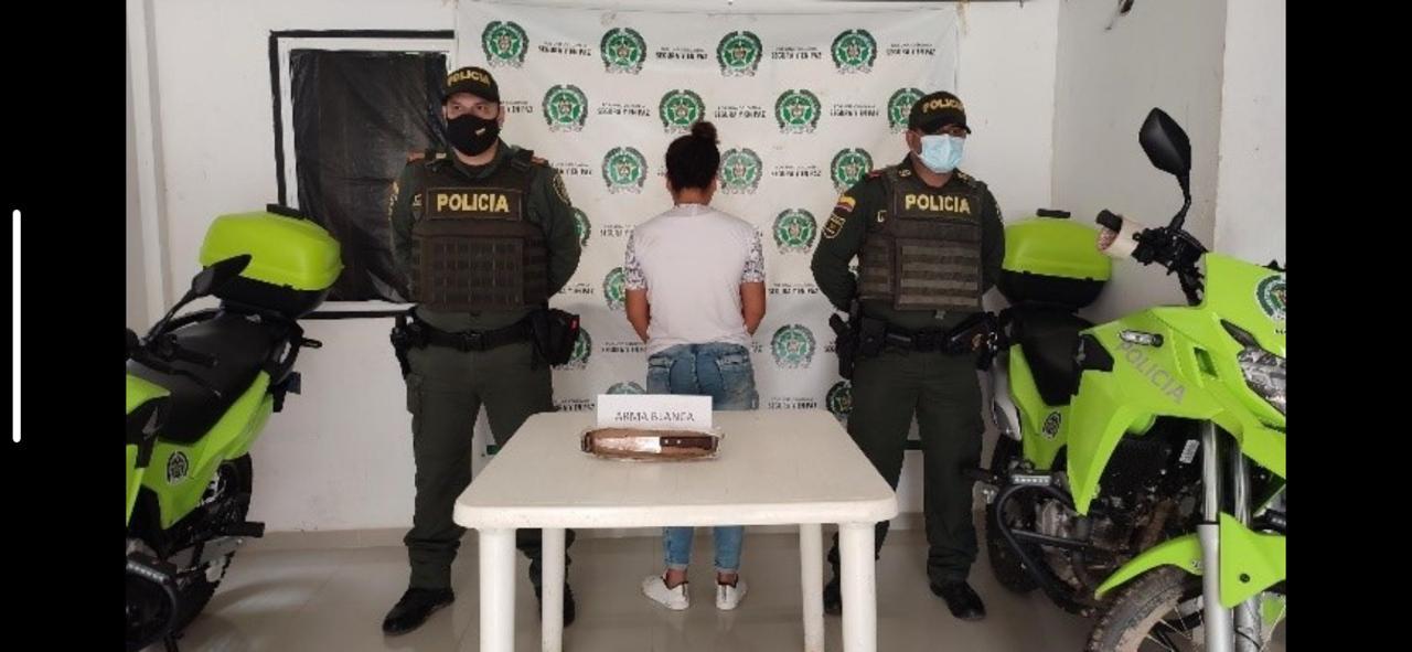 https://www.notasrosas.com/En Tamalameque, Policía Cesar captura a una mujer por el homicidio de su compañero
