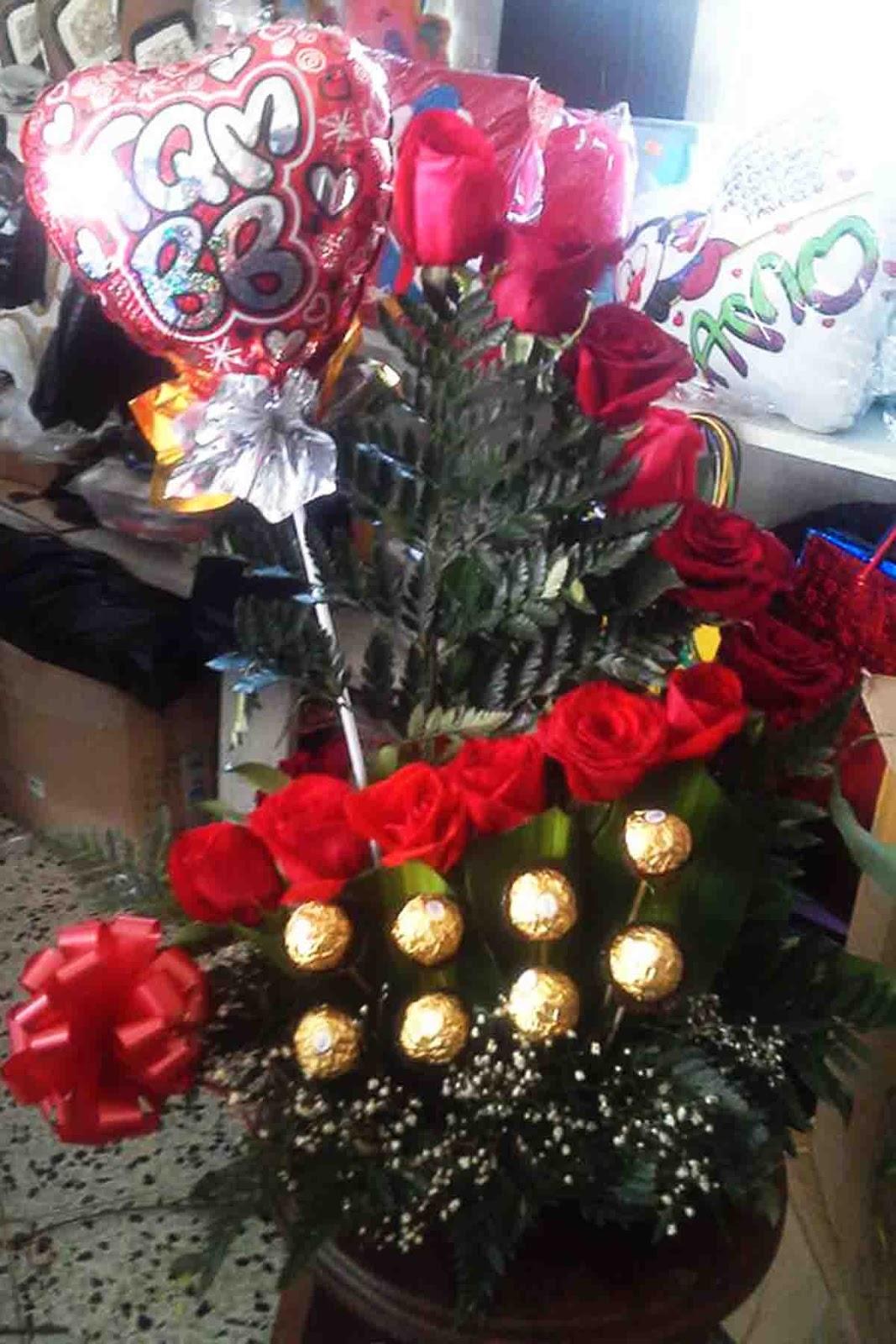 Imagenes De Arreglos Florales Para El Dia Del Amor Y La