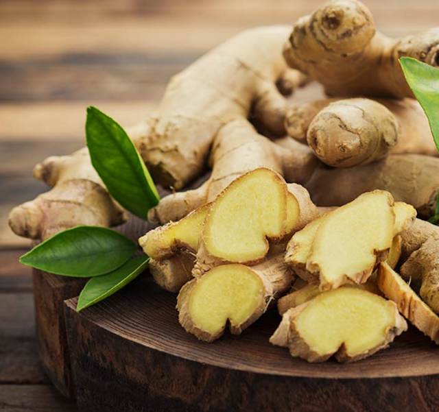 What are the health benefits of ginger? Discuss these