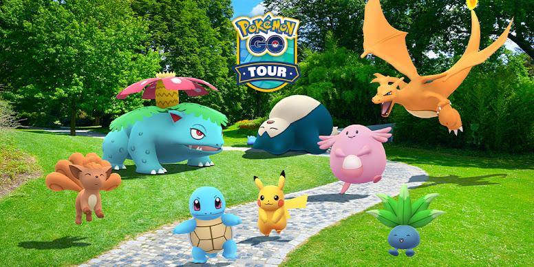 Pokémon GO Tour Kanto 2021