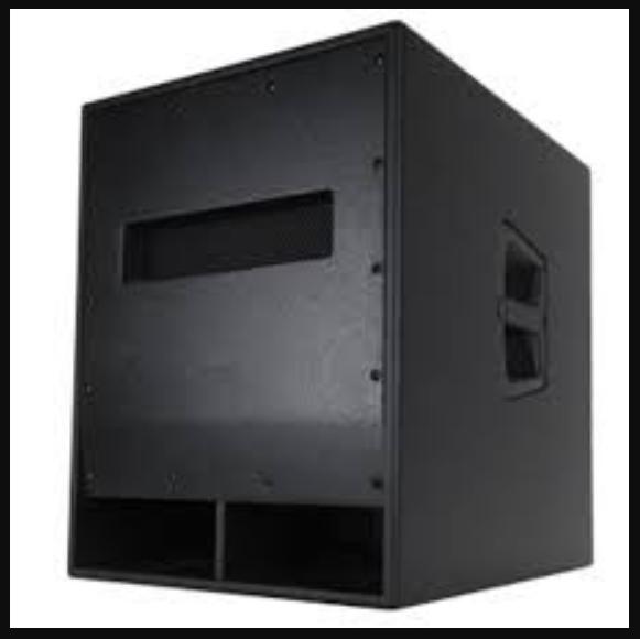 Skema Box Speaker RCF 18 Inch Tipe Lapangan