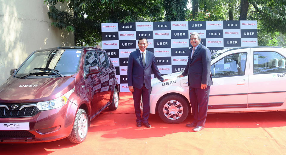 Mahindra and Mahindra all set to launch EVs on Uber Platform
