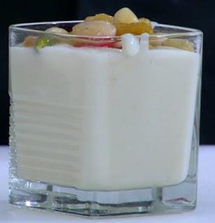 طريقة تحضير مهلبية اللوز والعسل مع ماء الورد