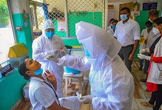 भारत में पहली बार नए कोरोनावायरस केस का आंकड़ा एक लाख पार