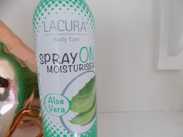 Aldi Lacura Spray On Body Moisturiser