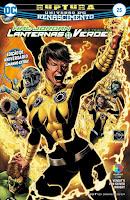 DC Renascimento: Hal Jordan e a Tropa dos Lanternas Verdes #25