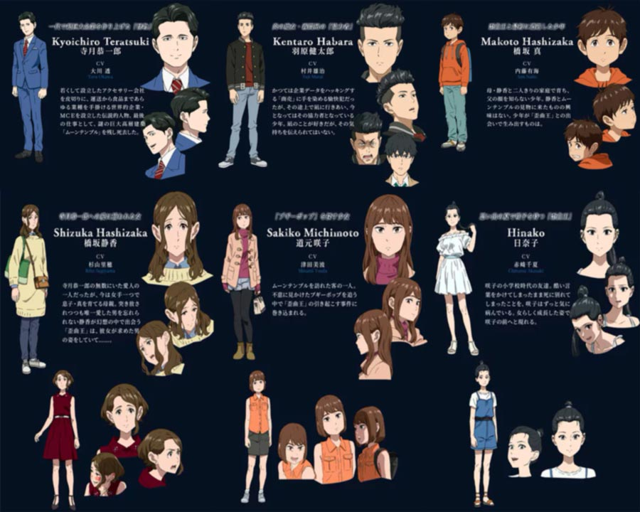 Boogiepop and Others (Boogiepop wa Warawanai) anime - personajes