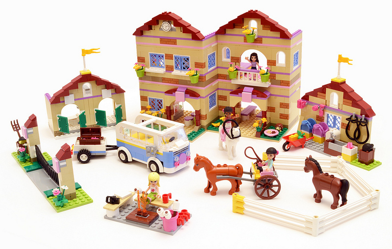 Lego Friends Summer Riding Camp 3185 w Stephanie Emma New SEALED Fast