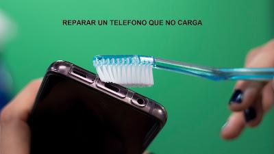Como reparar un celular que no carga