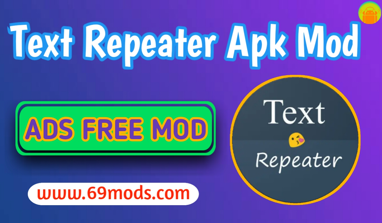 Text Repeater Apk ads free mod