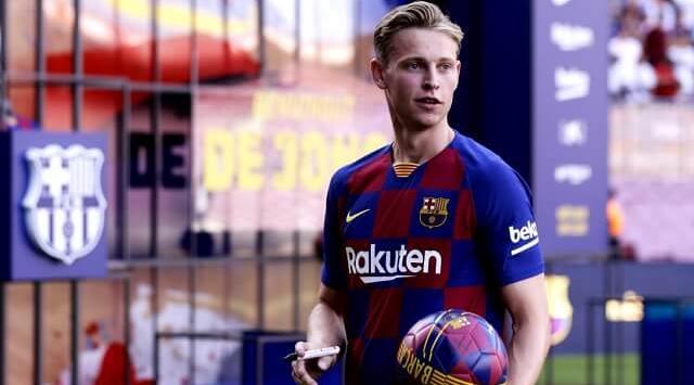 Gelandang Frenkie De Jong Minta Nomor Punggung Impian Di Barcelona